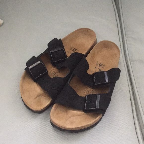 6585f3bd691d Birkenstock Shoes - Birkenstocks (Betula) Black suede